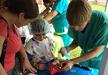 NOVA Students Conduct Teddy Bear Clinic