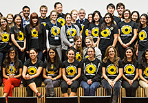 SUNY was a sea of World Sight Day Challenge T-shirts on Oct. 10.