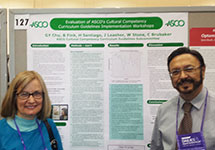 Poster Explains Evaluation of Cultural Competency Curriculum Guidelines Implementation Workshops