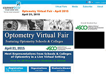 Optometry Virtual Fair Set for April 21
