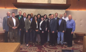 Representatives from ASCO, ARBO, NBEO, AAO and AOA at the October meeting of the Inter-Organizational Communications and Cooperation Committee in Denver.