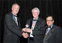 Dr. Arol Augsburger Honored with Industry Award