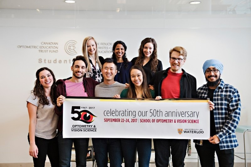 The Waterloo School of Optometry & Vision Science is Celebrating 50 Years!