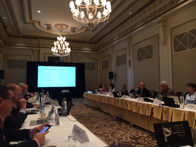 ASCO Board of Directors Meets at AAO Conference, Chicago