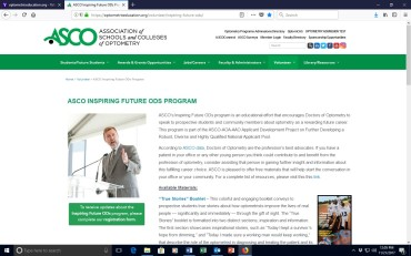 Get Involved in the ASCO's Inspiring Future ODs Program
