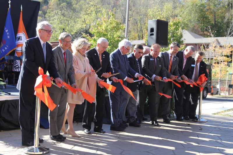 UPIKE Dedicates Health Professions Education Building
