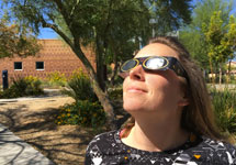 Eye Institutes Shine During Total Eclipse