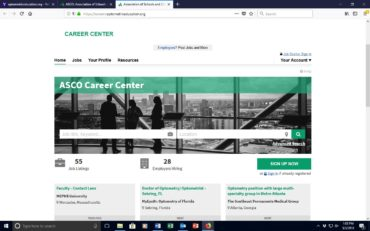 ASCO Debuts New Online Career Center