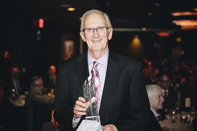 Thomas L. Lewis of Salus University Pennsylvania College of Optometry Honored With Career Achievement Award