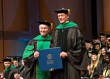 Potter Receives Honorary Degree