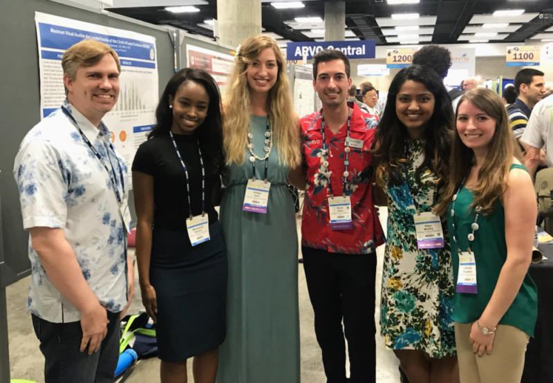 KYCO Students' Research Highlighted at ARVO Meeting