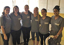 SUNY Optometry Students Join VOSH International Mission to Grenada
